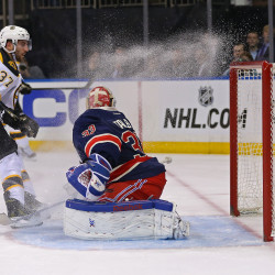 Bruins top Rangers, win Northeast Division title