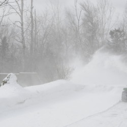 Near blizzard may dump at least a foot of snow on most of Maine, weather service says