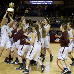 Poland upsets Greely for Western Class B boys title; Lake Region wins Western Class B girls crown