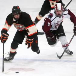 DeLaite, Graham, Powell lead Bangor hockey team past Brunswick