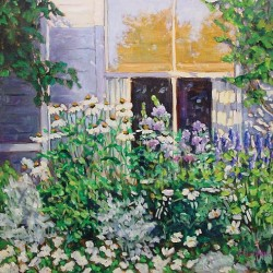 Never too late: Nursing home painters get first gallery show in Portland