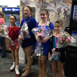 From left to right, Marcy Bedaw, Aiyana Mitchell, Chana Freedberg, Mayaan Freedberg.
