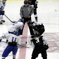 Saint Dominic's defeats Lewiston High School in Class A East hockey semifinal