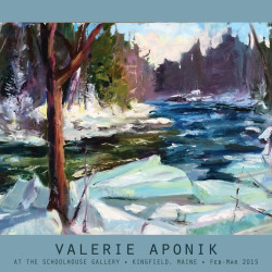 Valerie Aponik Plein Air Painting Deomonstration