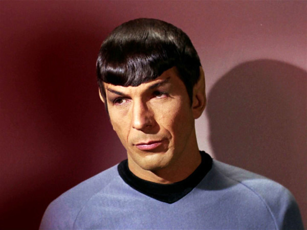Image result for spock eyebrow