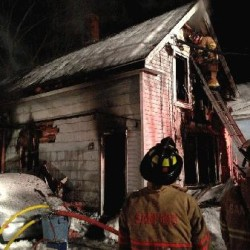 Fire destroys Sanford home