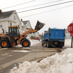 Monday weather snarls blizzard cleanup; warmer temperatures on the way