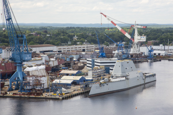 Marvelous Navy, Union At Odds Over Reason For Delay In Construction Of U0027stealthu0027  Destroyers At BIW