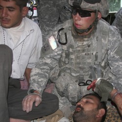 Medical students invent foam tool to treat battlefield wounds