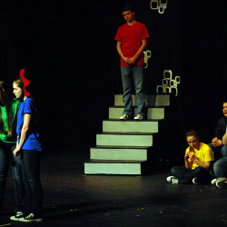 The play, not winning, is the thing at state drama festival