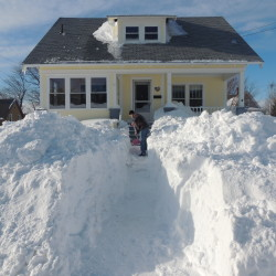 Frequent storms stretching overtime budgets, salt stockpiles for some towns