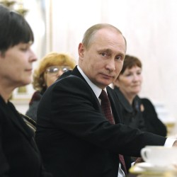 PUTIN'S FAWNERS AMONG EUROPEAN POLITICIANS