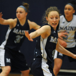 UMaine basketball teams hit home stretch; North Atlantic Conference squads begin playoffs