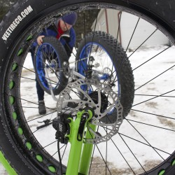 Fat bikes pushing cycling into the snow