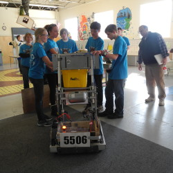 New robotics program using Legos is popular part of science curriculum at New Sweden school