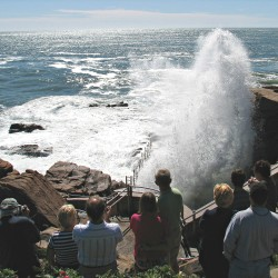 Three swept out to sea at Thunder Hole
