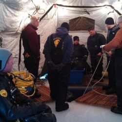 State police dive teams participate in training on Moosehead Lake