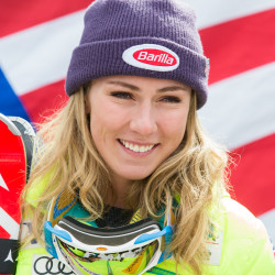 US teen Mikaela Shiffrin youngest-ever winner of slalom gold