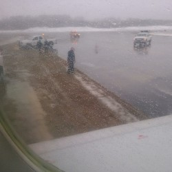 No one injured after plane skids off runway at New York's JFK airport