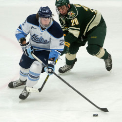 WABI, WPME, CW televising Maine-Merrimack Hockey East quarterfinal series