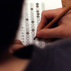 Eighth-grader designs standardized test that slams standardized tests