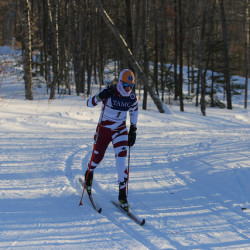 Orono High School's Lily Koffman competes in the cross country classical race during the Class C state meet in February 2015 in Presque Isle. She placed second in the event. The Maine Principals' Association proposes to eliminate Class C skiing in favor of a two class system. The plan would also create Nordic and Alpine state championships.