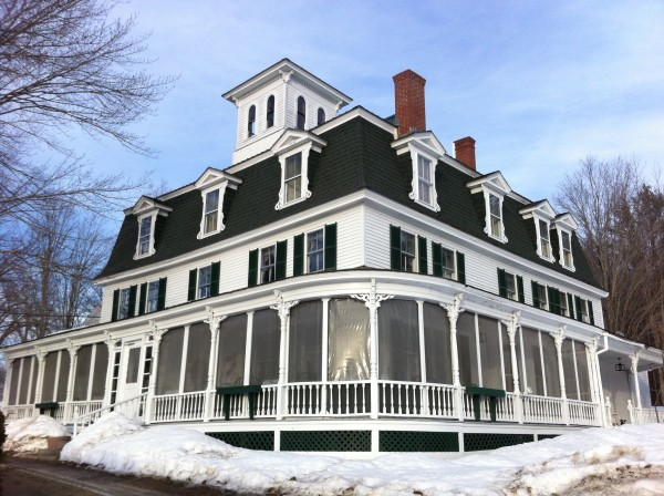 Center Lovell Inn is seen Tuesday in Lovell. The owner is offering the inn up to the winner of a 200-word essay contest.