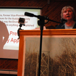 Katahdin-area residents attend forum on proposed national park, skeptical of benefits