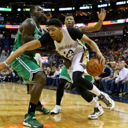 Davis carries Pelicans past tired Celtics