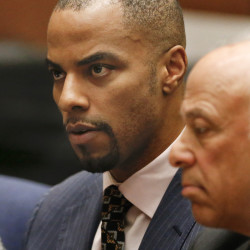 Ex-NFL star Sharper arrested on new rape warrant