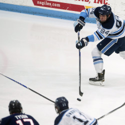 Gendron feels UMaine hockey team took another positive step in Florida College Classic