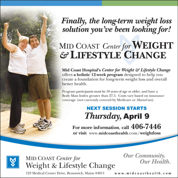 Mid Coast Weight Loss Program Begins April 9 User Submitted