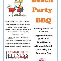 Beach Party BBQ
