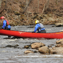 Racers get on rivers thanks to early thaw