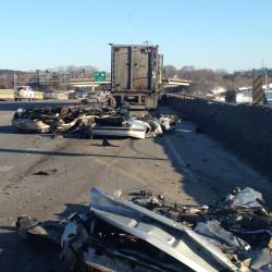 Man kills self in deliberate collision