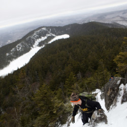 Feeling the weight: Hikers carry tribute stones for Maine heroes to Baxter mountaintop
