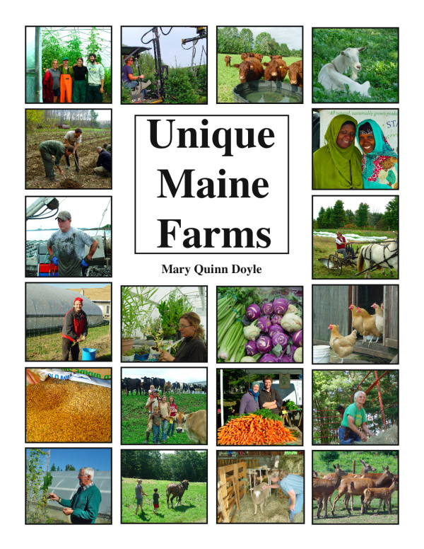 This 296-page book is printed in Maine on Maine produced paper, and will be available for purchase at this event.