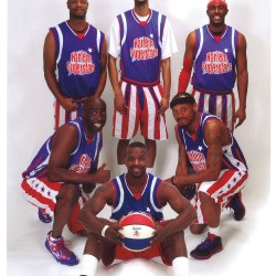 The Harlem Superstars face off against the Northern Maine Dream Team on Thursday, March 26, 2015 at 6:30 pm at Caribou High School.