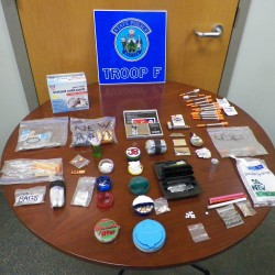 Oakfield man arrested, charged with trafficking in methamphetamine