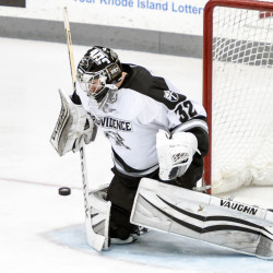 South Portland native Gillies faces Maine's Ouellette in Friday goalie duel
