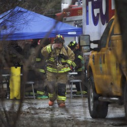 Hazmat team neutralizes Brewer spill