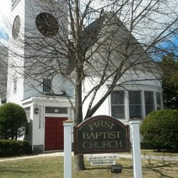 First Baptist Church of Yarmouth, founded more than two centuries ago, has been at 346 Main St. since 1889. Church members have been surprised to learn of a new Baptist church opening next week less than a mile away.