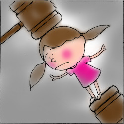 American courts have never been kind to women, kids