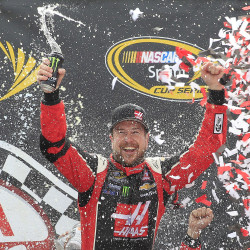 Paul Menard pulls off upset win at Indianapolis