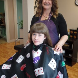 Hair donations in Rockland benefit Locks of Love