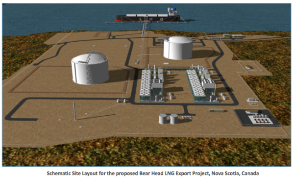 Nova Scotia company wants to move LNG north through Maine for export
