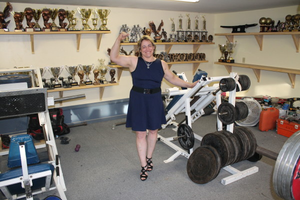 Winterport Woman Sets Masters World Record In Bench Press Sports
