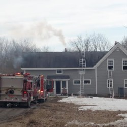 Friends' effort saves home from burning