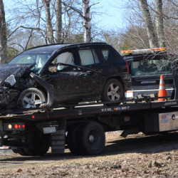 Man charged after crash near Owls Head airport