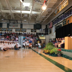Top 10 highest high school graduation rates and 10 lowest rates in Maine